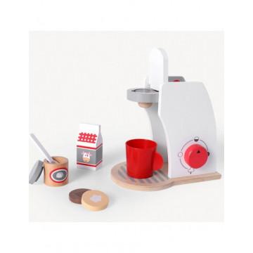 Jucarie din lemn expresor de cafea