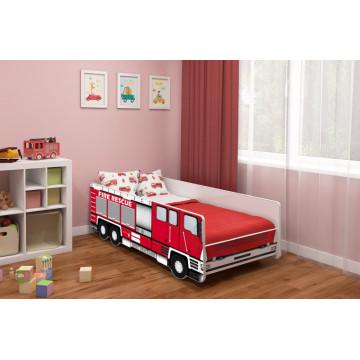 Pat Tineret MyKids Fire Truck-160x80