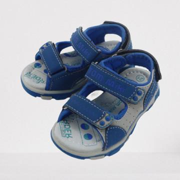Sandale sport, baieti, 21-26, albastru