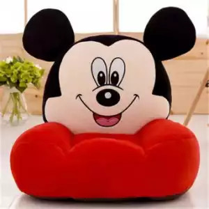 Fotoliu din plus Mickey ,rosu, 50*50 cm