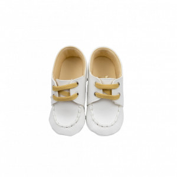 Pantofi eleganti bebe, albi