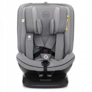 Scaun Auto Coto Baby Hevelius 360° Isofix 0-36 Kg Melange Grey