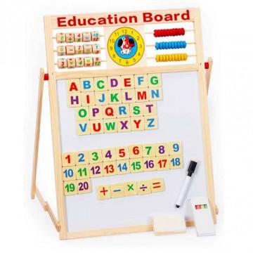 Tabla magnetica pentru copii, 5 in 1,65 x 45 cm
