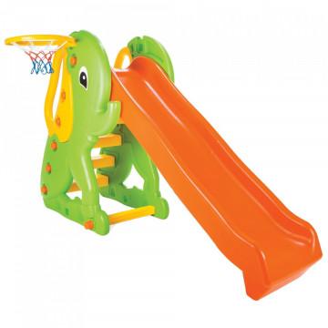 Tobogan Pilsan Elephant Slide orange green