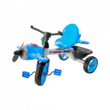 Tricicleta albastra Cu Elice, Lumina Si Muzica,