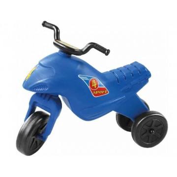 Tricicleta Motorbike, de impins, albastra