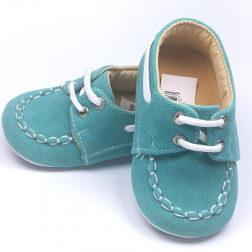 Pantofi eleganti bebe, verde deschis