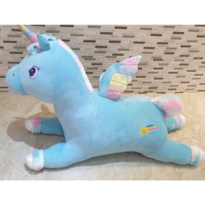 Calut Unicorn de plus 100 cm ALBASTRU