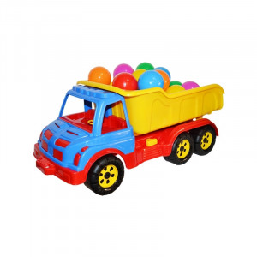 Camion Plastic 60 Cm + Mingiute