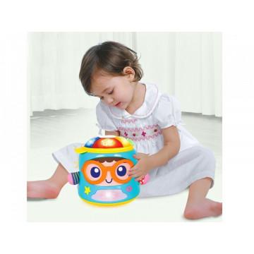 Jucarie bebe Prietenul muzical Baby Soother HOLA