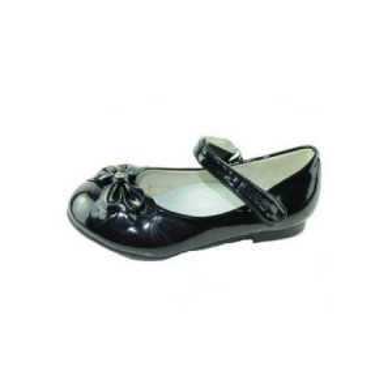 Pantofi eleganti fete, lacuiti, cu interior piele, negri