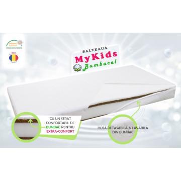 Saltea Fibra Cocos MyKids Bumbacel 120x60x11 (cm)