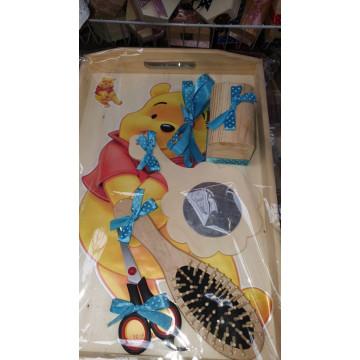 SET DE 5 PIESE TAVITA TURTA, PERSONAJ DISNEY Winnie The Pooh