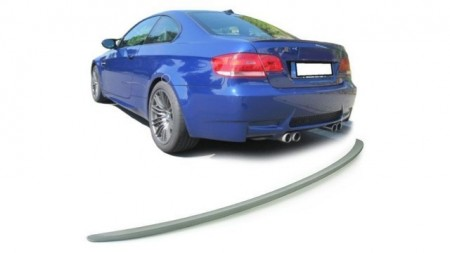 Imagens Aileron BMW Serie 3 E92 Spoiler BMW Serie 3 E92 Lip Aleron Look M3 Plastico Abs