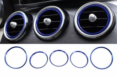 Imagens Anel de Ventilação Classe A - W176 Cla -C117 Gla Azul