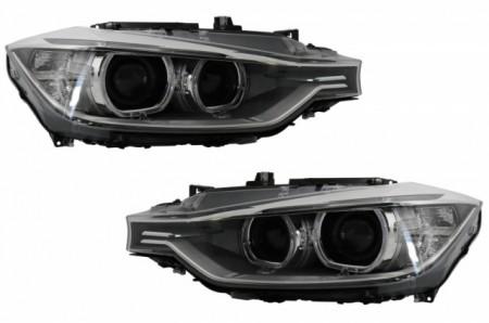 Imagens Conjunto Farois BI Xenon D1S BMW Serie 3 F30 F31