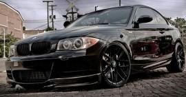 Imagens Conjunto Splitters - Lips Frontais BMW Serie 1 E82 / E88 CARBONO REAL