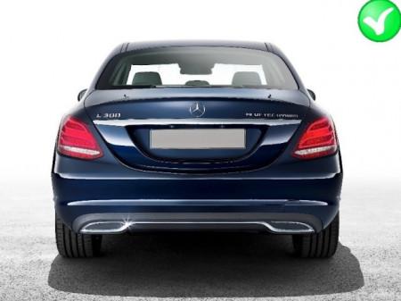 Imagens DIFUSOR Mercedes C W205 4 Portas + PONTEIRAS - Parachoques Standard