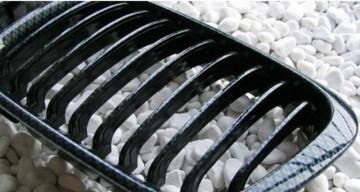 Imagens Grelhas Frontais Bmw Serie 3 E46 Carro Carrinha Facelift - Pintura Carbono