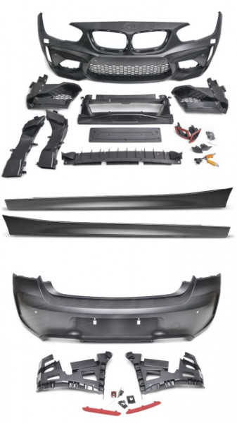 Imagens Kit M2 Bmw Serie 1 F21 Lci Pack Look M2 BMW Serie 1 F21 Kit Look M2 (2014- em diante)