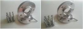 Imagens Conjunto de Espaçadores / Alargadores - BMW E81 E87 E82 E88 F20 F21 F22 F23 E36 E46 E90 E91 E92 E93 F30 F31 G20 G21 F32 F33 F36 E39 E60 E61 F10 F11 G30 G31 E63 F06 F12 F13 F01 F02 F01 X3 E83 F25 X4 F26 X5 E53 E70 F15 X6 E71 F16 - 12 / 16 / 20 mm