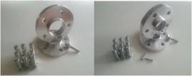 Imagens Conjunto de Espaçadores / Alargadores MERCEDES A , C , E , S , SLK , CLK , CLA , ETC - 12/ 16 / 20mm