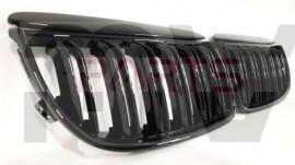 Imagens Grelhas Frontais Bmw Serie 3 E90 ou E91 Duplas Tipo M3 (2005-2008)