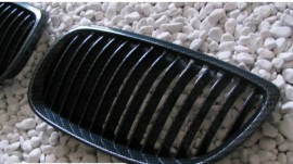 Imagens Grelhas Frontais Bmw Serie 3 - E92 E93 - 1ª Fase - Pintura Carbono