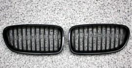 Imagens Grelhas Frontais Bmw Serie 5 - F10 F11- Pintura Carbono