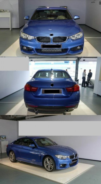 Imagens Kit M Pack M - BMW Serie 4 F32 F33 ou F36 Look 435i