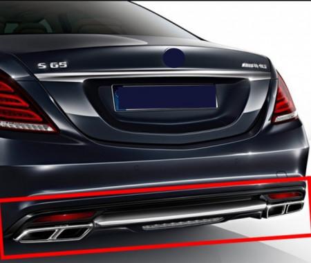 Imagens Ponteiras de escape Mercedes Amg - MERCEDES SL r231 S Coupe C217 S W222 CLS W218 E W212