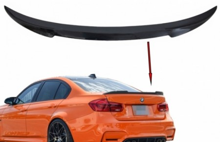 Imagens Aileron M Performance Carbono Real BMW Serie 3 F30 F80 M3 LOOK M4