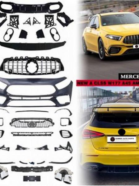 Imagens Kit A45 AMG MERCEDES w177 Kit Classe A W177 (2018- em diante)