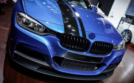Imagens Lip Frontal / Spoiler Frontal Bmw Serie 3 F30 F31 Performance