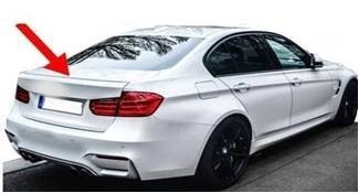 Imagens Aileron / Lip - BMW - Serie 3 F30