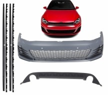 Imagens Bodykit Volkswagen Golf VII Gti Kit Exterior Vw Golf 7 GTi