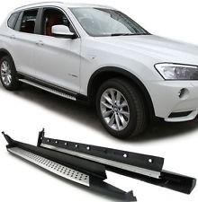 Imagens Estribos BMW X3 F25 Degraus em Aluminio BMW X3 F25 Embaladeiras BMW X3 F25