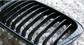Imagens Grelhas Frontais Bmw Serie 3 - E46 Carro Carrinha Compact - Pintura Carbono