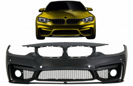 Imagens Parachoque BMW Serie 4 F32 (coupe) ou F36 (Gran Coupe) Look M4