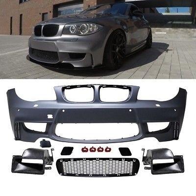 Imagens Parachoques frontal 1M BMW Serie 1 E81 / E82 / E87 / E88 M Com Condutas Ar