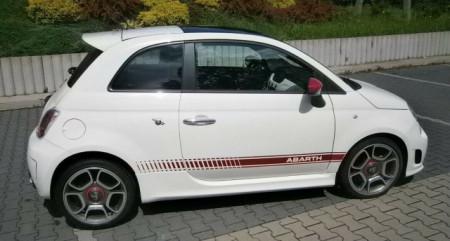 Imagens Aileron FIAT 500 Look Abarth Spoiler Lip Fiat 500