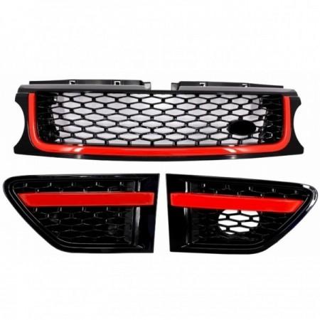 Imagens Conjunto de Grelhas Look Sport Range Rover Sport Design (2008-2013) RED