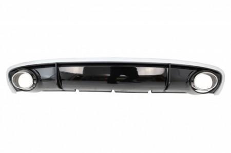 Imagens Difusor + Ponteiras Audi A4 Look Rs4 - Audi A4 Rs4 (2012-2015) Facelift