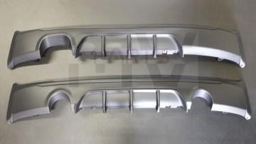 Imagens Difusor Traseiro BMW Para Serie 2 F22 F23 PERFORMANCE 235i ou 220d - 2 MODELOS