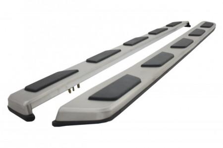 Imagens Estribos AUDI Q7 (2005-2014) Degraus em Aluminio AUDI Q7 (2005-2014) Embaladeiras Audi Q7 (2005-2014)
