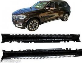 Imagens Estribos X5 F15 Degraus em Aluminio BMW X5 F15 Embaladeiras X5 F15