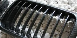 Imagens Grelhas Frontais Bmw Serie 3 - E36 - 1ª Fase - Pintura Carbono