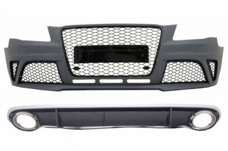 Imagens Kit Audi A4 Look Rs4 - Audi A4 B8 Rs4 ( 2007-2012)