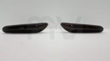 Imagens Conjunto Piscas laterais Pretos LED - para BMW E81 E82 E87 E88 E90 E91 E92 E93 X1 E84