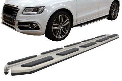Imagens Estribos AUDI Q5 (2008-2016) Degraus em Aluminio AUDI Q5 (2008-2016) Embaladeiras Audi Q5 (2008-2016)